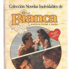 Libros de segunda mano: 2 NOVELAS INOLVIDABLES BIANCA. (P/C38). Lote 178713142