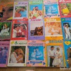 Libros de segunda mano: LOTE DE 15 NOVELAS ROMANTICAS ~ SOMBRAS , MELISSA , BRISAS , ECT ... ~ ( AÑOS 80/90 ) LEER ANUNCIO. Lote 178753320
