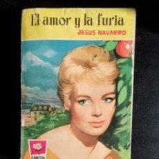 Libros de segunda mano: EL AMOR Y LA FURIA DE JESUS NAVARRO- PRIMERA EDICION JUNIO 1960- EDITORIAL BRUGUERA. Lote 178773696