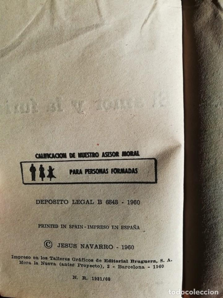 Libros de segunda mano: EL AMOR Y LA FURIA DE JESUS NAVARRO- PRIMERA EDICION JUNIO 1960- EDITORIAL BRUGUERA - Foto 3 - 178773696
