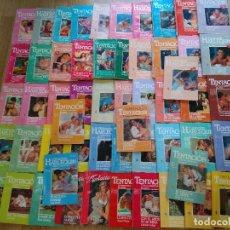 Libros de segunda mano: LOTE DE 55 NOVELAS ROMANTICAS HARLEQUIN ~ TENTACION ~ , TODAS DISTINTAS ( AÑOS 80 ) LEER ANUNCIO. Lote 178957662