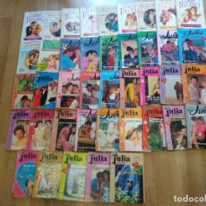 Libros de segunda mano: LOTE DE 41 NOVELAS ROMANTICAS ~ JULIA Y CORIN TELLADO ~ , TODAS DISTINTAS ( AÑOS 80 ) LEER ANUNCIO. Lote 179035976