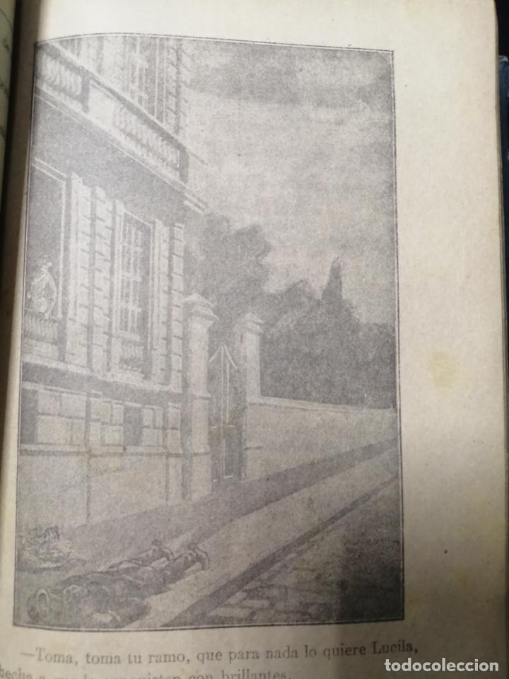 Libros de segunda mano: LA PANTERA NEGRA O LOS INFORTUNIOS DE DOS AMANTES, OBRA EN 3 VOLUMENES TOMO 1, 1 Y 2, 2. LEER - Foto 3 - 179138401