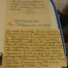 Libros de segunda mano: RENUNCIACIÓN. MADERUELO, INÉS. Lote 179198548