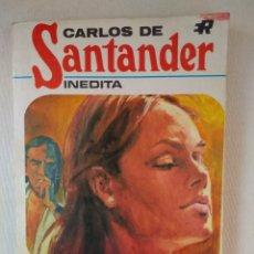 Libros de segunda mano: NOVELA ROMANTICA CARLOS DE SANTANDER ~ INEDITA ~ ¡¡¡ NUMERO 1 ¡¡¡ ( AÑO 1970 ) ROLLAN. Lote 179231468
