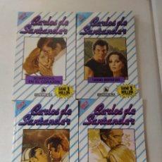 Libros de segunda mano: LOTE DE 4 NOVELAS ROMANTICAS CARLOS DE SANTANDER ~ BRUGUERA ~ NºS 958/960/961/962 ( AÑOS 80 ) LEER. Lote 179325842