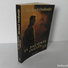 Libros de segunda mano: EL PACIENTE INGLES (MICHAEL ONDAATJE) PLAZA&JANES-1997. Lote 179521851