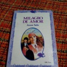 Libros de segunda mano: MILAGRO DE AMOR ANNA SALA. Lote 180148273