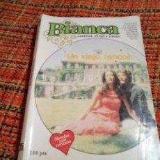 Libros de segunda mano: NOVELA ROMÁNTICA BIANCA UN VIEJO RENCOR. Lote 180148298
