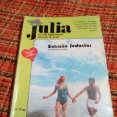 Libros de segunda mano: NOVELA ROMÁNTICA JULIA EXTRAÑO SEDUCTOR. Lote 180148321