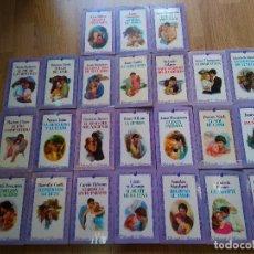 Libros de segunda mano: LOTE DE 24 NOVELAS ROMANTICAS FORUM ~ SILHOUETTE ROMANCE ~ TODAS DISTINTAS ( AÑOS 80 ) LEER ANUNCIO. Lote 180156908