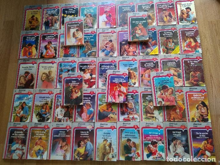 LOTE DE 50 NOVELAS ROMANTICAS HARLEQUIN ~ AMERICAN LOVE~ TODAS DISTINTAS ( AÑOS 80 ) LEER ANUNCIO (Libros de Segunda Mano (posteriores a 1936) - Literatura - Narrativa - Novela Romántica)