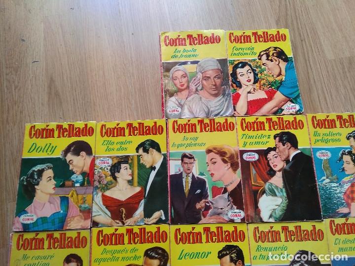 Libros de segunda mano: LOTE DE 26 NOVELAS ROMANTICAS CORIN TELLADO ~ BRUGUERA ~ ( TODAS DISTINTAS ) CORAL - Foto 2 - 180162300