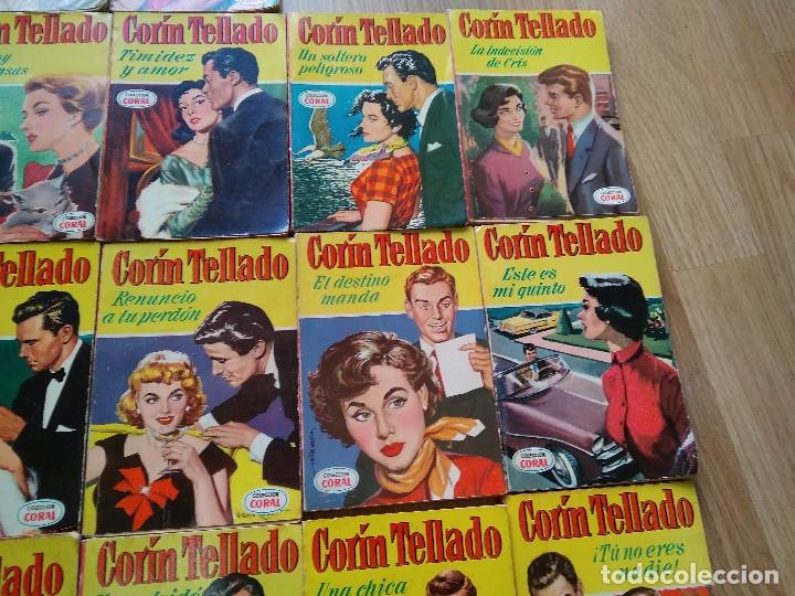 Libros de segunda mano: LOTE DE 26 NOVELAS ROMANTICAS CORIN TELLADO ~ BRUGUERA ~ ( TODAS DISTINTAS ) CORAL - Foto 3 - 180162300