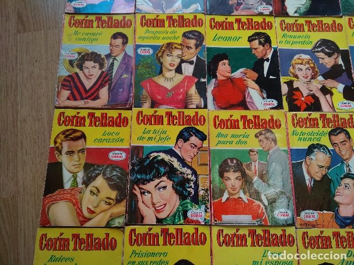 Libros de segunda mano: LOTE DE 26 NOVELAS ROMANTICAS CORIN TELLADO ~ BRUGUERA ~ ( TODAS DISTINTAS ) CORAL - Foto 4 - 180162300