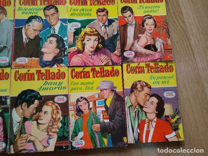 Libros de segunda mano: LOTE DE 26 NOVELAS ROMANTICAS CORIN TELLADO ~ BRUGUERA ~ ( TODAS DISTINTAS ) CORAL - Foto 5 - 180162300
