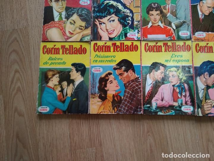 Libros de segunda mano: LOTE DE 26 NOVELAS ROMANTICAS CORIN TELLADO ~ BRUGUERA ~ ( TODAS DISTINTAS ) CORAL - Foto 6 - 180162300