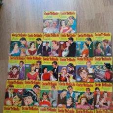 Libros de segunda mano: LOTE DE 26 NOVELAS ROMANTICAS CORIN TELLADO ~ BRUGUERA ~ ( TODAS DISTINTAS ) CORAL. Lote 180162300