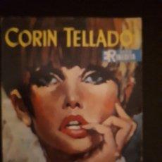 Libros de segunda mano: CORIN TELLADO. SERIE INÉDITA. Nº 113 ED. ROLLÁN. 1ª EDICIÓN.. Lote 180279921