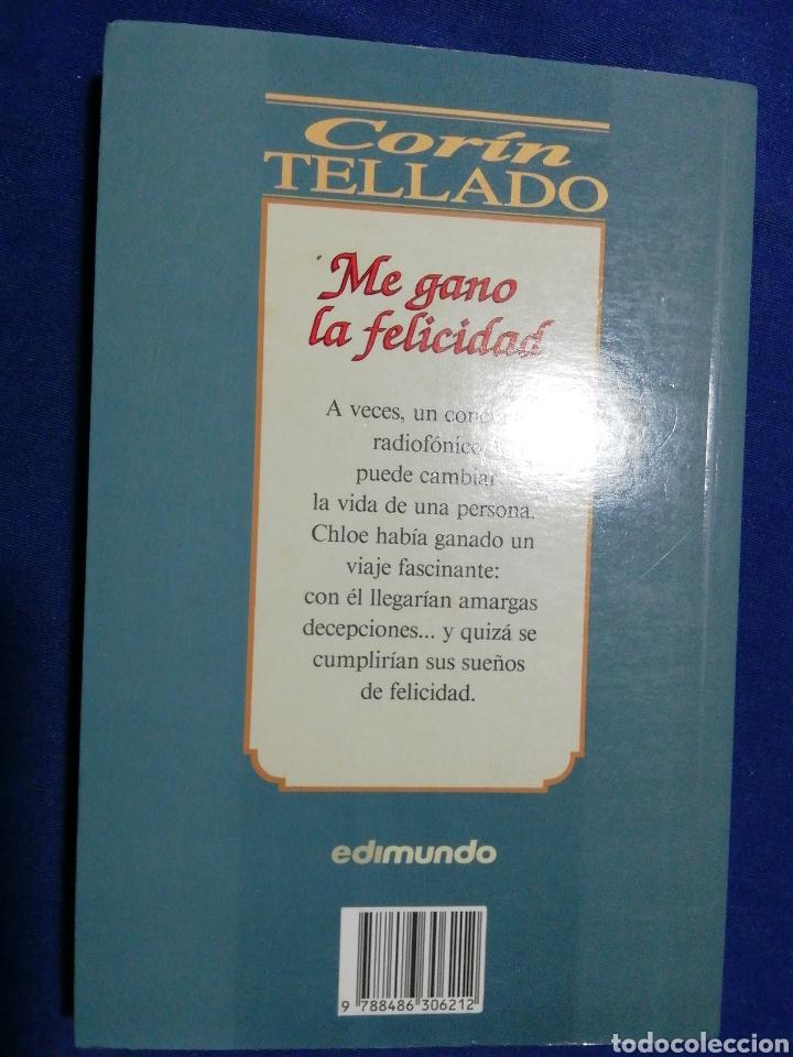 Libros de segunda mano: ME GANO LA FELICIDAD. CORÍN TELLADO - Foto 2 - 180280795