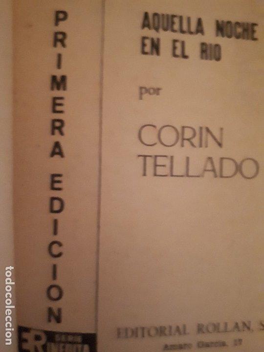 Libros de segunda mano: CORIN TELLADO. SERIE INÉDITA. Nº 110 ED. ROLLÁN. 1ª EDICIÓN. - Foto 2 - 180280893