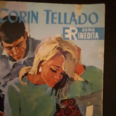 Libros de segunda mano: CORIN TELLADO. SERIE INÉDITA. Nº 75 ED. ROLLÁN. 1ª EDICIÓN.. Lote 180281446