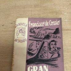 Libros de segunda mano: GRAN TURISMO. Lote 180867633