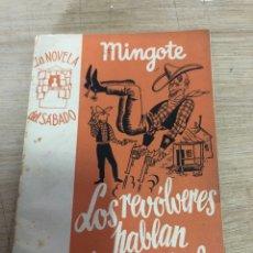 Libros de segunda mano: LOS REVÓLVERES HABLAN DE SUS COSAS. Lote 181987122