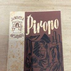 Libros de segunda mano: PIROPO. Lote 181989122