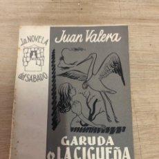 Libros de segunda mano: GARUDA O LA CIGÜEÑA BLANCA. Lote 181989230