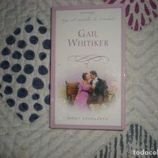Libros de segunda mano: AMOR VERDADERO;GAIL WHITAKER;HARLEQUÍN 2007. Lote 182261322
