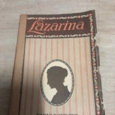 Libros de segunda mano: LAZARINA. Lote 182382776