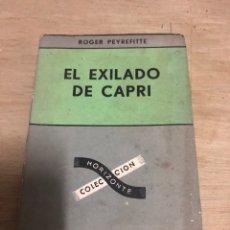 Libros de segunda mano: EL EXILIADO DE CAPRI. Lote 182387215