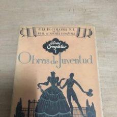 Libros de segunda mano: OBRAS DE JUVENTUD. Lote 182388061