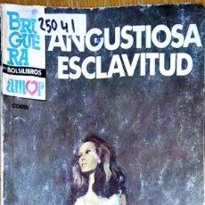 Livres d'occasion: 25041 - NOVELA ROMANTICA - CORIN TELLADO - COL CORIN ILUSTRADA - ANGUSTIOSA ESCLAVITUD - Nº 108. Lote 183634123
