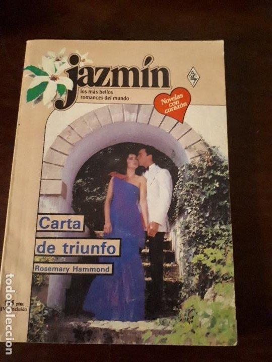 NOVELA JAZMIN Nº 503. CARTA DE TRIUNFO. (Libros de Segunda Mano (posteriores a 1936) - Literatura - Narrativa - Novela Romántica)