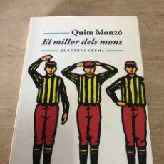 Libros de segunda mano: EL MILLOR DELS MONS. Lote 184337931