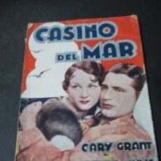 Libros de segunda mano: CASINO DEL MAR CARY GRANT BENITA HUME EDICIONES BIBLIOTECA FILMS PARAMOUNT FILMS. Lote 184600247