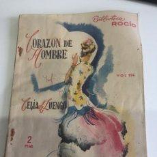 Libros de segunda mano: CORAZÓN DE HOMBRE. Lote 185985062