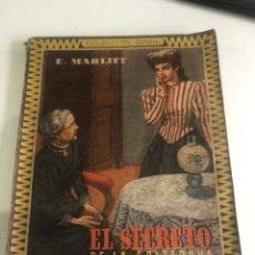 Libros de segunda mano: EL SECRETO DE LA SOLTERONA. Lote 185985816