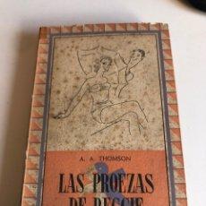Libros de segunda mano: LAS PROEZAS DE REGGIE. Lote 186124755