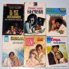 Libros de segunda mano: LOTE DE 6 NOVELAS ROMÁNTICAS. CORIN TELLADO Y OTROS. Lote 187233861