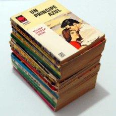Libros de segunda mano: LOTE DE 15 NOVELAS ROMÁNTICAS COLECCIÓN AMAPOLA. Lote 187246065
