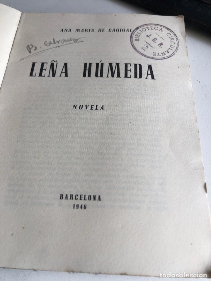 Libros de segunda mano: Leña húmeda - Foto 2 - 188475051