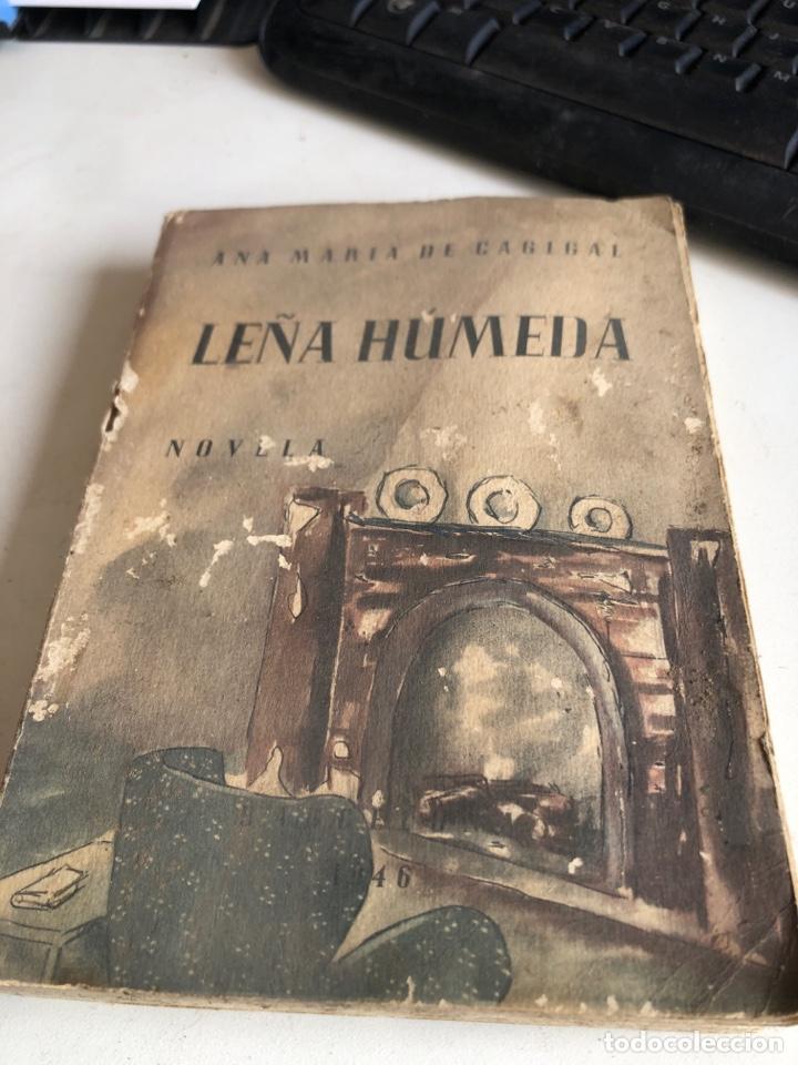 LEÑA HÚMEDA (Libros de Segunda Mano (posteriores a 1936) - Literatura - Narrativa - Novela Romántica)