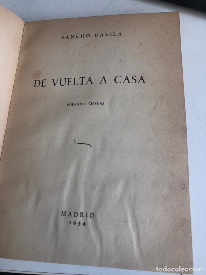 Libros de segunda mano: De vuelta a casa - Foto 3 - 188800037