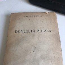 Libros de segunda mano: DE VUELTA A CASA. Lote 188800037
