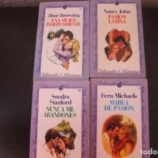 Libros de segunda mano: LOTE 4 LIBROS SILHOUETTE ROMANCE. Lote 191657268