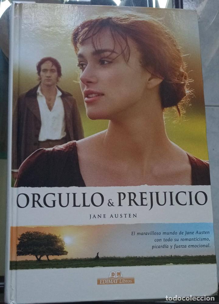 ORGULLO Y PREJUICIO JANE AUSTEN TAPA DURA 2006 EDIMAT LIBROS (Libros de Segunda Mano (posteriores a 1936) - Literatura - Narrativa - Novela Romántica)