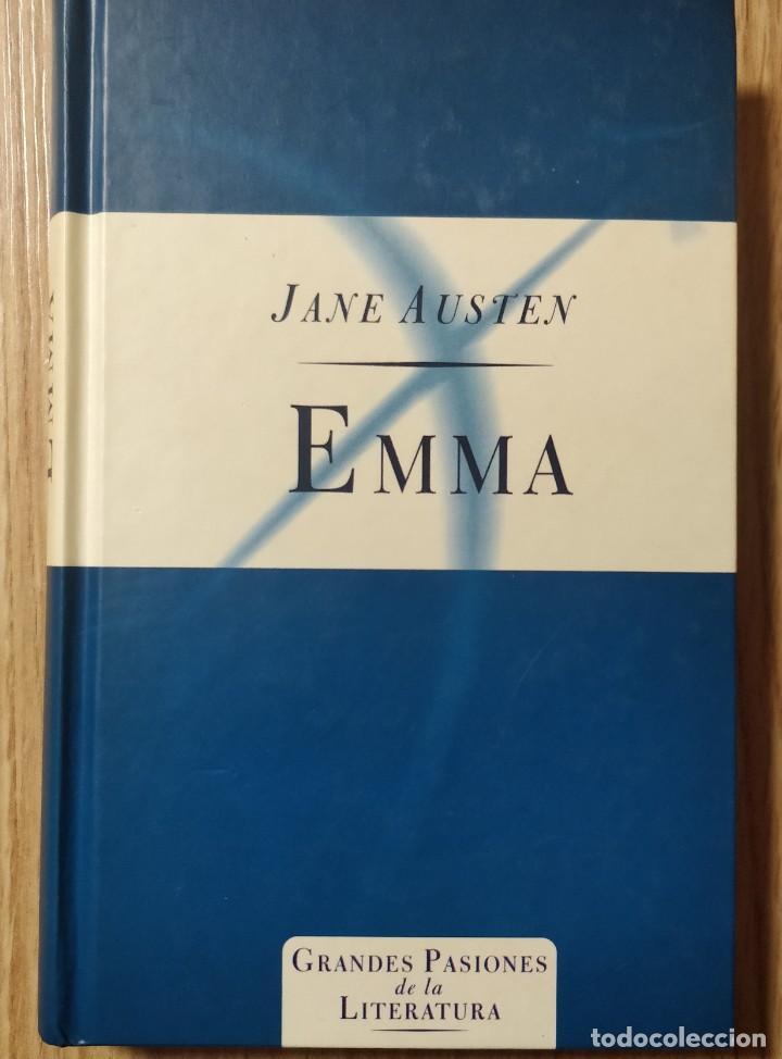 EMMA ** JANE AUSTEN -- GRANDES PASIONES DE LA LITERATURA (Libros de Segunda Mano (posteriores a 1936) - Literatura - Narrativa - Novela Romántica)